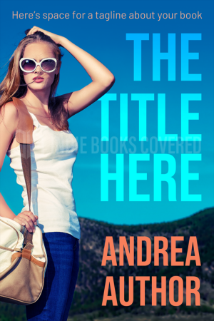 Premade ebook cover design for YA